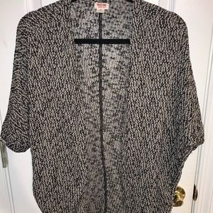Marbled Open Cardigan